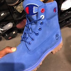 Men's champion x timberland boots
